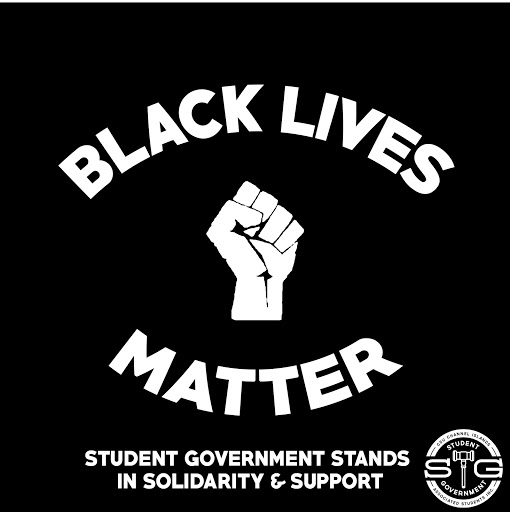 Student Government supports the initiative: Black Lives Matter